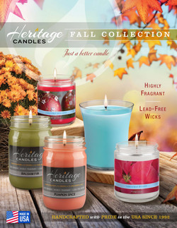 Heritage Candles Fall Fundraiser