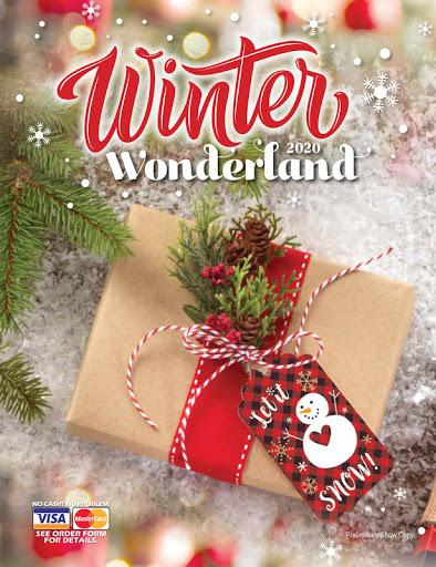 Winter Wonderland Fundraiser Brochure