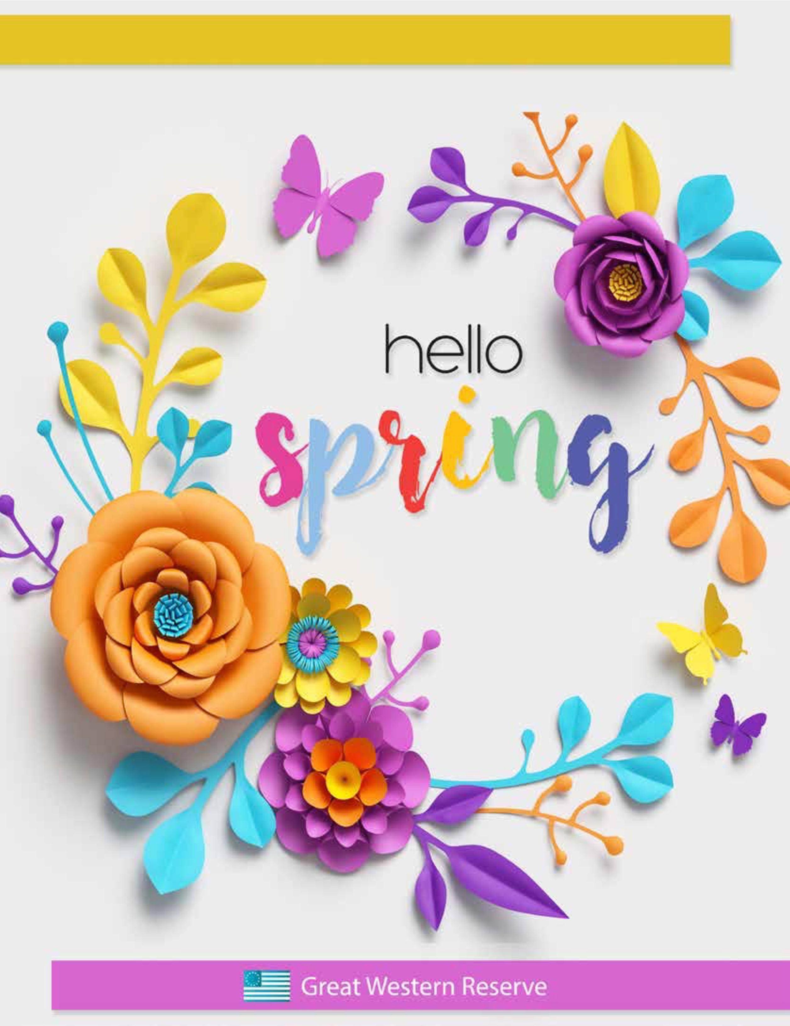 Hello Spring Fundraiser