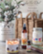La-Tee-Da Funraising Fall Candle Brochue