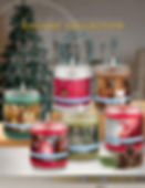 Heritage Candles Holiday Collection Christms Candles Brochure