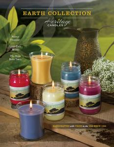 Heritage Candles Earth Collection