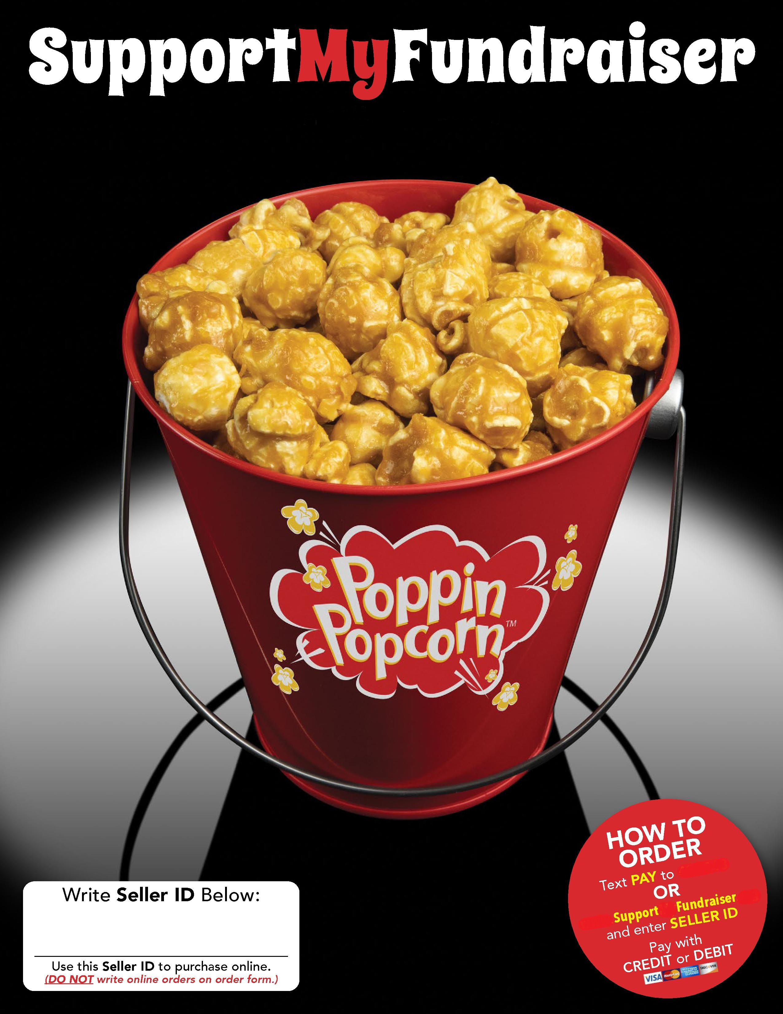 Poppin Popcorn Fundraiser Online cover