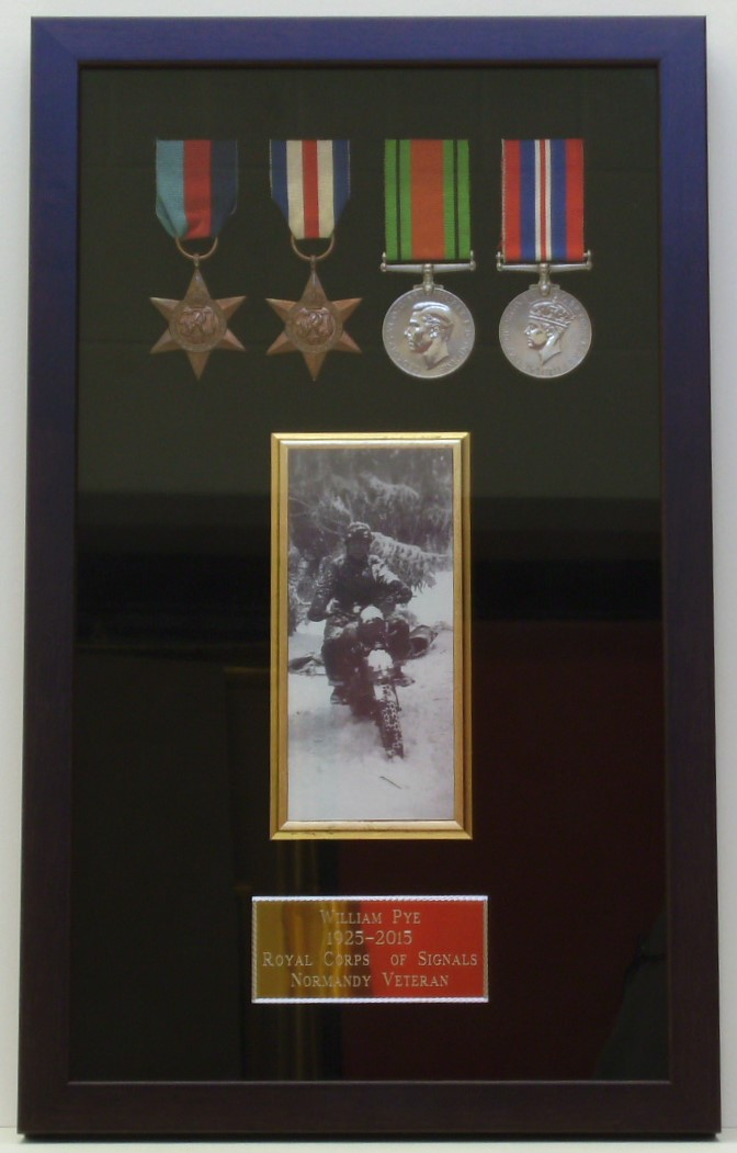 Medals,photo and engraved plate