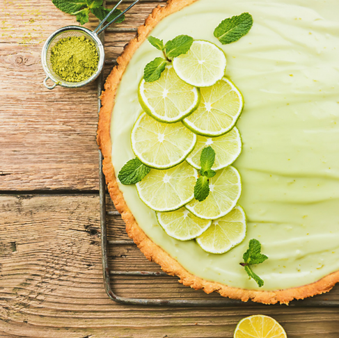 No Bake Key Lime Pie - (GF) (V)