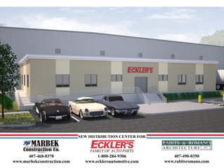 Eckler's selects Rabits & Romano Architecture to design new office in Titusville