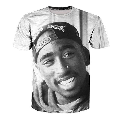 2pac 3D T-shirt