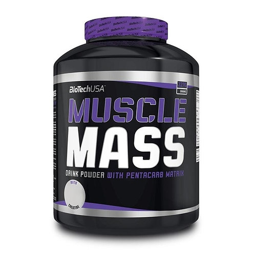 Biotech USA Muscle Mass 2270g Vanille