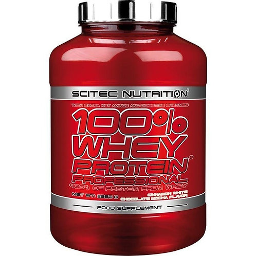 Scitec Nutrition 100% Whey Protein Professional 2350g Schokolade Cookies & Cream