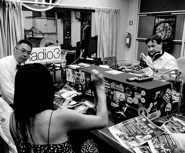 RTHK Radio 3 interview, Yoko Wende, jazz festival, hong kong, big band, singer