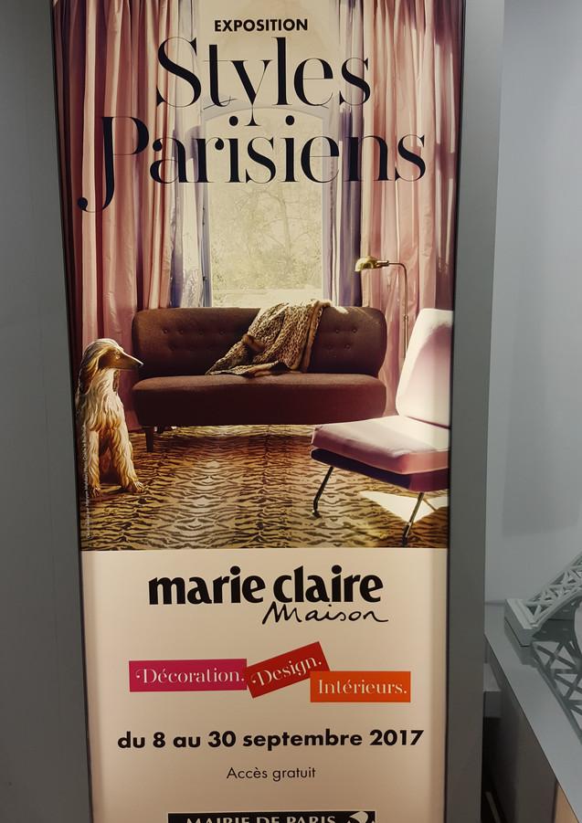 Exposition Styles Parisiens Marie-Claire 2017