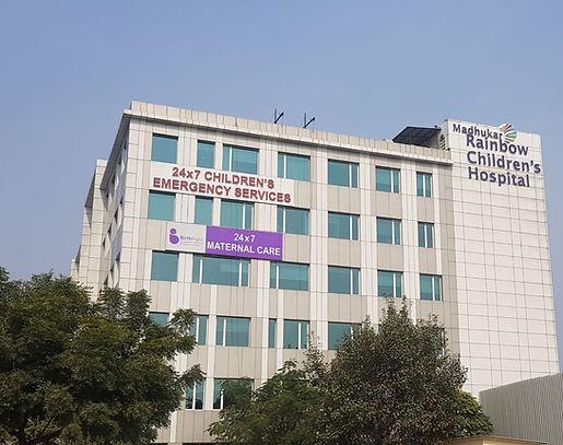 Madhukar Rainbow Children hospital, Delhi, India