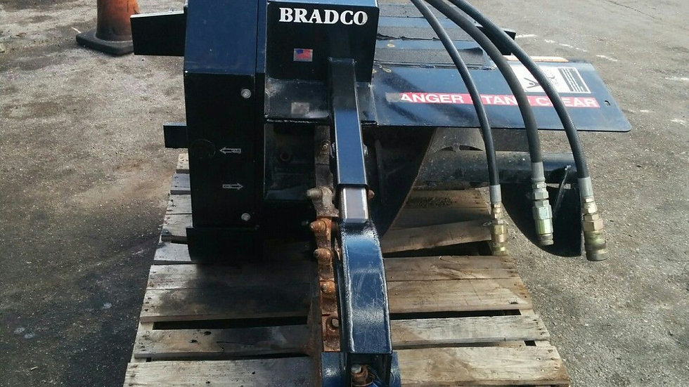 Skid Steer Trencher by Bradco,650