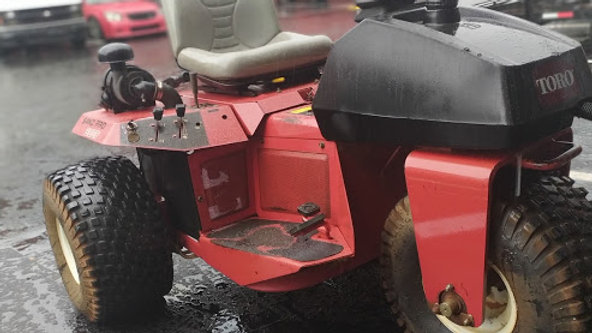 Toro Sand Pro 5020 3WD Field Rake Bunker Rake Rahn Groomer with Scarifier