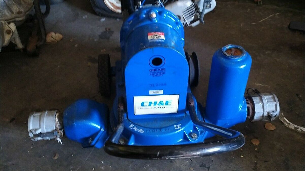 Diaphragm Pumps Without Power from CH&E Pumps