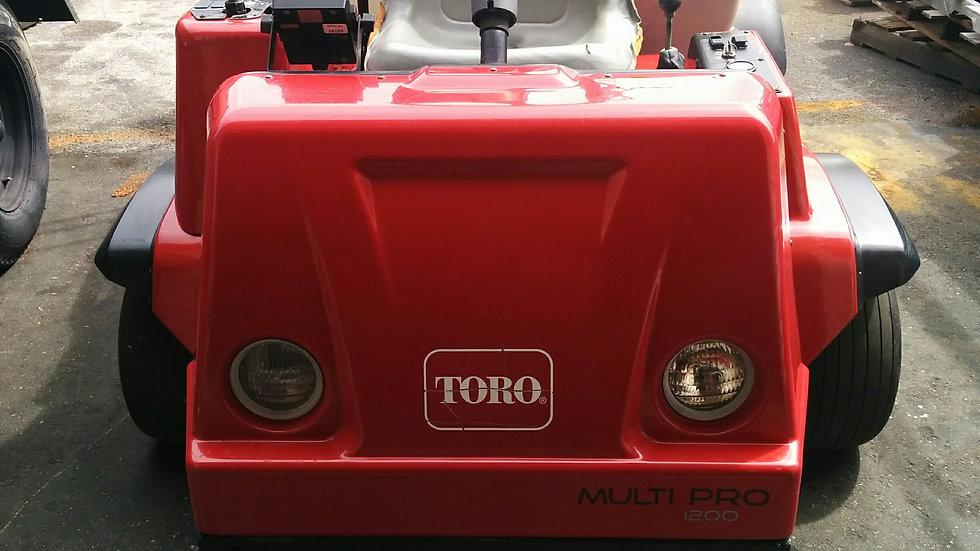 Toro Multi Pro 1200 Spray Pro 175 Gal Low Profile Turf - 18 ft Boom Sprayer