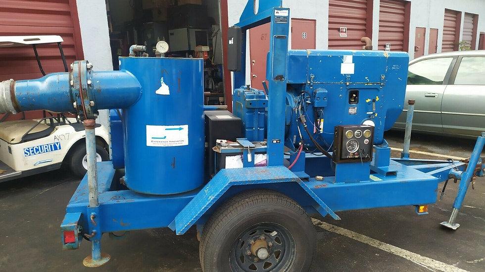 """Water pump Thompson Self-Priming Trash Pump- , 8"""", W-464 Diesel Silent Pack 2005"""