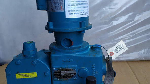 Dover - 565-S-N5 - Neptune 565-S-N5 Hydraulically Actuated Diaphragm Pump, PVC