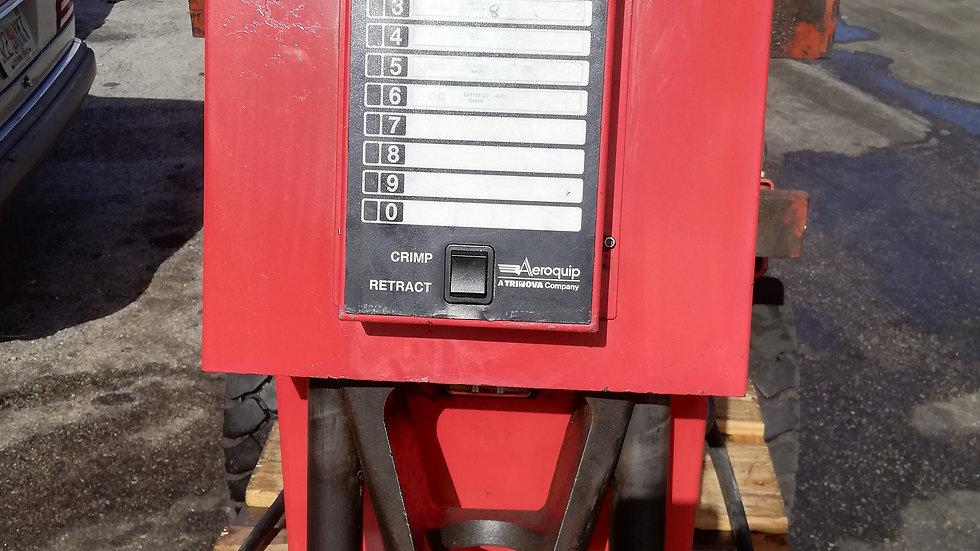 AeroQuip model: FT1380 hydraulic hose crimper machine