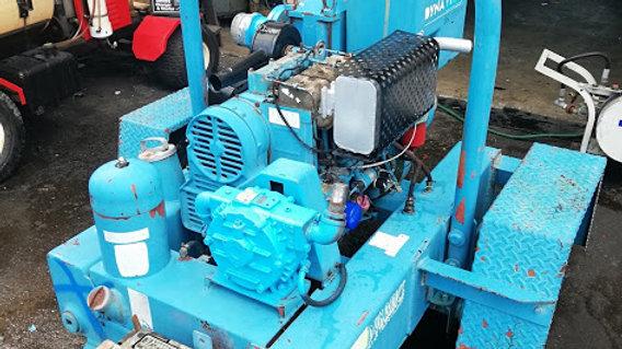 Dyna Prime- Water Pump 4'' trash- Trailer Mounted - Diesel engineew arrival
