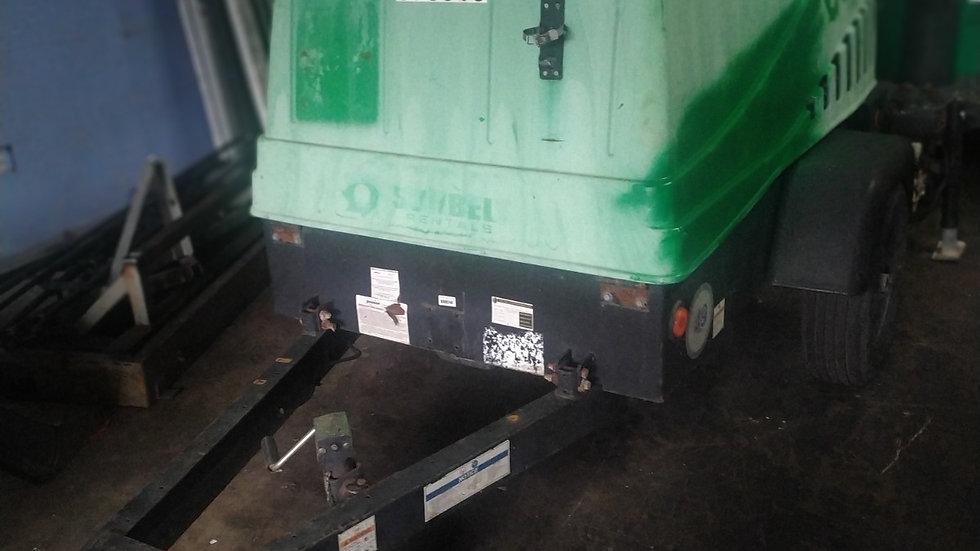 2014 Doosan 185 cfm Mobile Air Compressor C-185 WKUB-FX-T4I