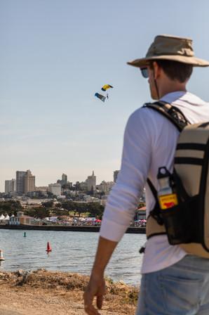 Parachuting for Fleet Week