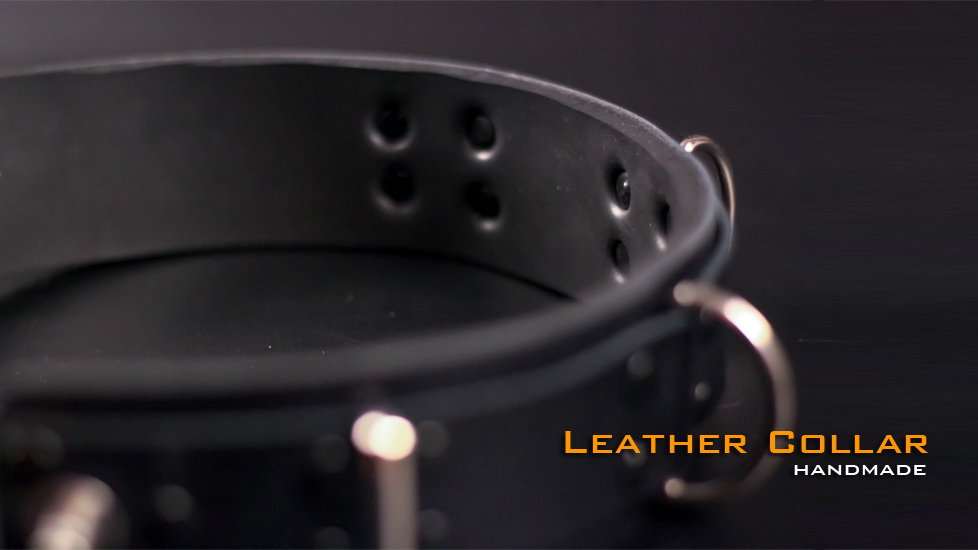 Neck Collar Leather With Neoprene