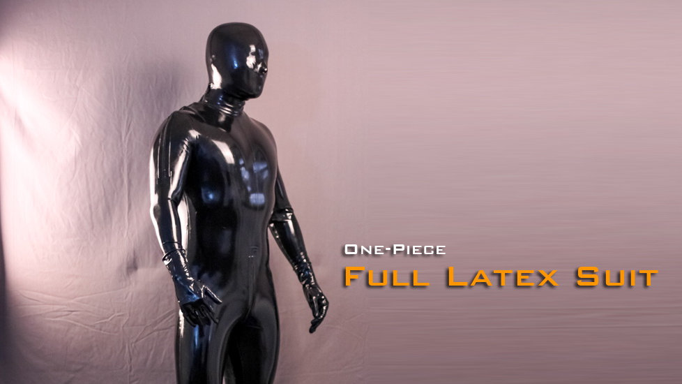 Latex One-Piece Catsuit-0.4mm