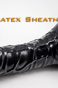 Textured coke & Ball sheath