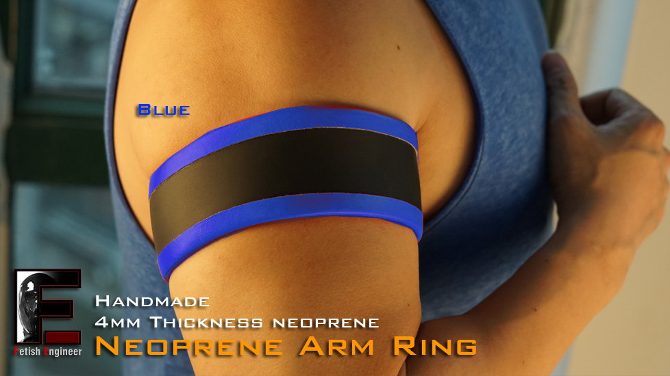 Blue Bag Edge Arm Ring