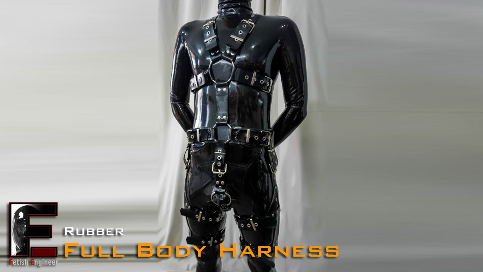 Rubber Harness-Full Body