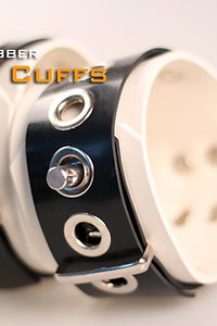 White Ankle Cuffs-White