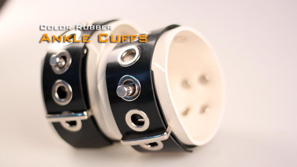 White Ankle Cuffs-White
