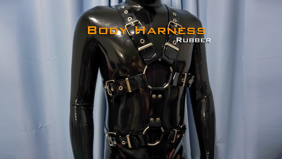 Heavy rubber harness