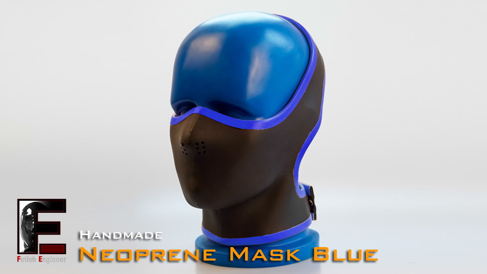 Half Face Neoprene Face Mask Blue