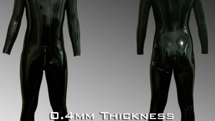 Customized latex catsuit-0.4mm