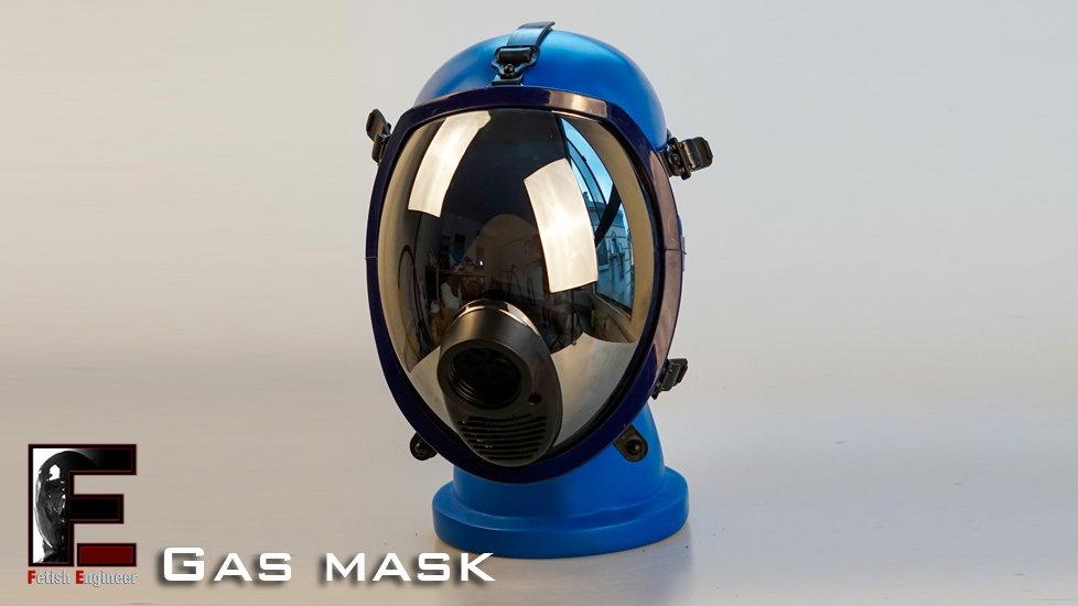 GasMask-Silver mirror