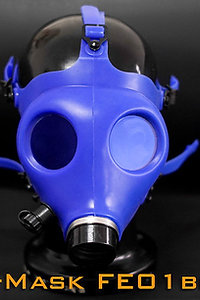 Rubber Gas Mask &Blue