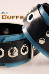 Blue Ankle Cuffs-Rubber