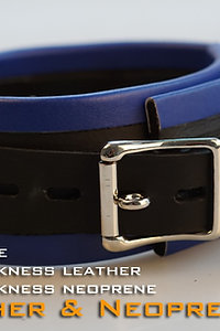 Blue Collar-neoprene & leather