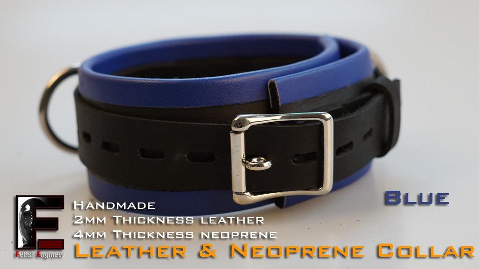 Blue Collar-neoprene & leather