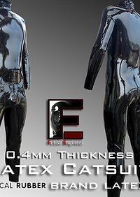 Customized Latex Catsuit (Radical Rubber brand latex fabric)-0.4mm
