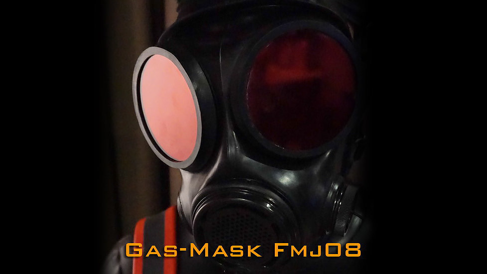 Gas Mask FMJ08-Rubber