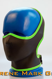 Half Face Neoprene Face Mask-Green