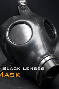 Gas Mask-Opaque glasses