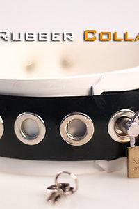 Rubber White Neck Collar