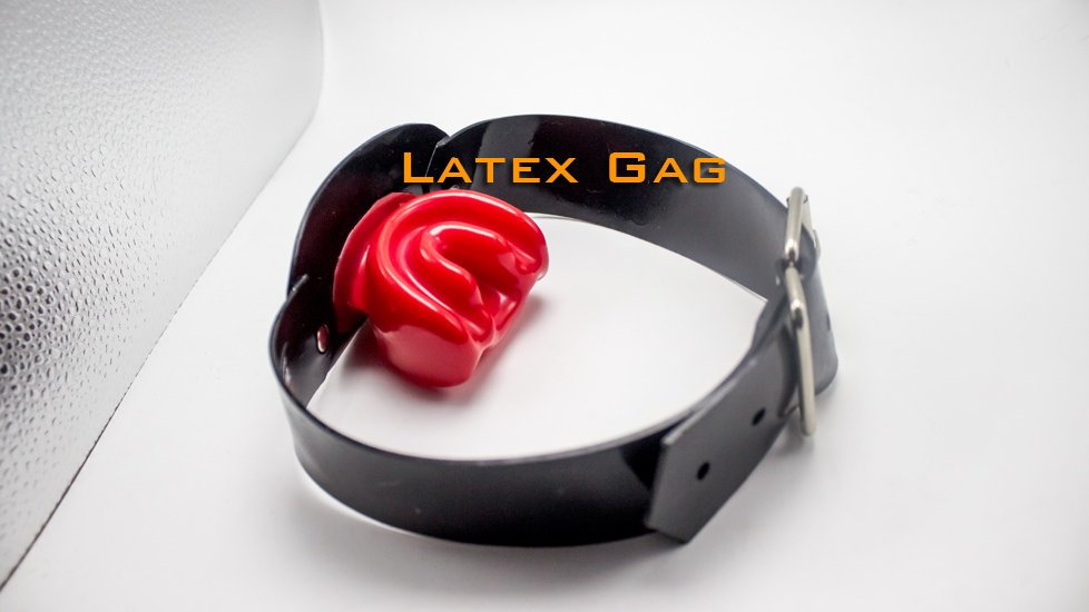Latex Mouth Gag