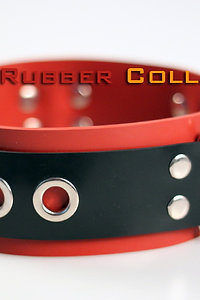 Rubber Red Neck Collar