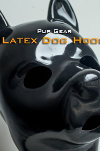 1.5mm Latex Dog &Puppy Hood with Zip Back