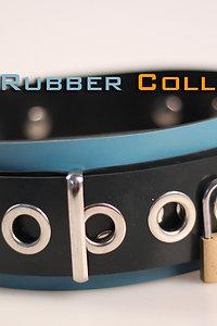 Rubber Collar-Blue